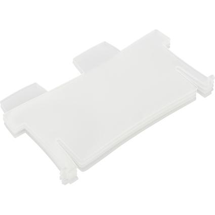 HAN Stützplatte für Lernkartei CROCO DUO, A8 quer