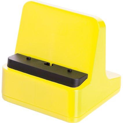 HAN Smartphone-Ständer smart-Line, hochglänzend, gelb