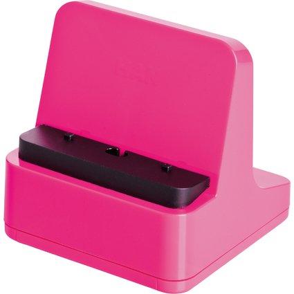 HAN Smartphone-Ständer smart-Line, hochglänzend, pink