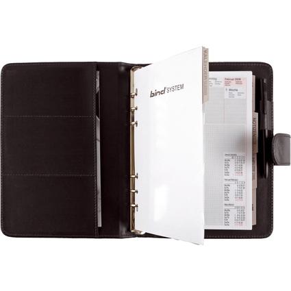 bind Terminplaner Modell 15501-1, A5, ohne Kalender, schwarz