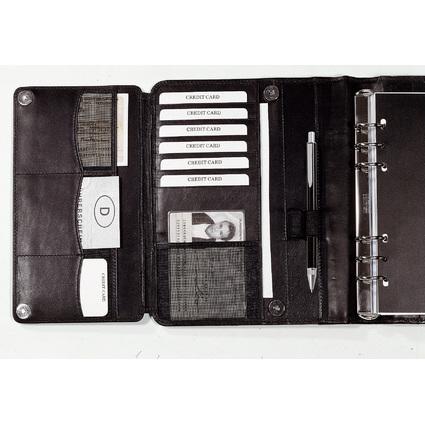 bind Terminplaner Modell T300-1, A5, ohne Kalender, schwarz