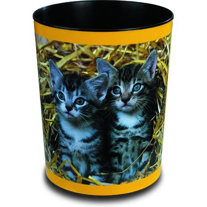 """Läufer Papierkorb """"Katzen im Stroh"""""""