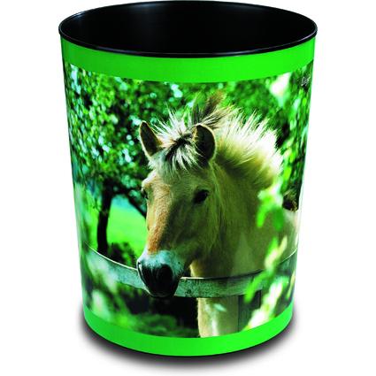 "Läufer Papierkorb ""Pferd am Weidezaun"""