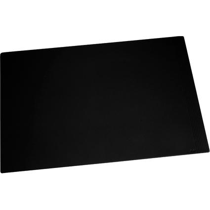 Läufer Schreibunterlage LA LINEA, 450 x 650 mm, schwarz