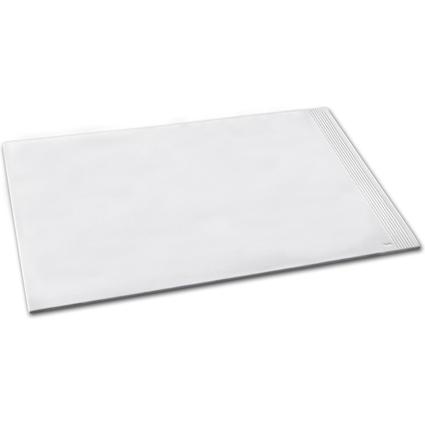 Läufer Schreibunterlage LA LINEA, 450 x 650 mm, weiß