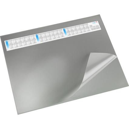 Läufer Schreibunterlage DURELLA DS, 520 x 650 mm, grau