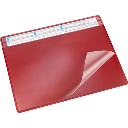 Läufer Schreibunterlage DURELLA SOFT, 500 x 650 mm, rot