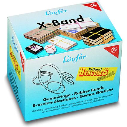 Läufer X-Band im Karton - 500 g, 250 x 25 mm, bunt sortiert