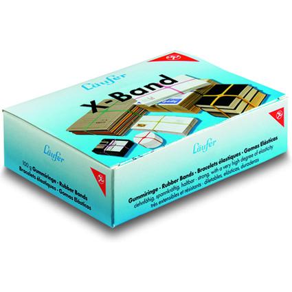 Läufer X-Band im Karton - 100 g, 150 x 11 mm, bunt sortiert