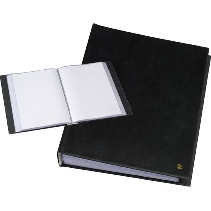 """rillstab Sichtbuch """"Original"""", DIN A4, 30 Hüllen, schwarz"""