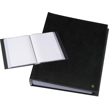 """rillstab Sichtbuch """"Original"""", DIN A4, 40 Hüllen, schwarz"""
