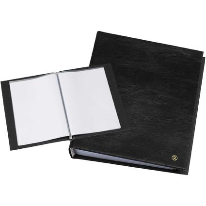 """rillstab Sichtbuch """"Original"""", DIN A5, 20 Hüllen, schwarz"""