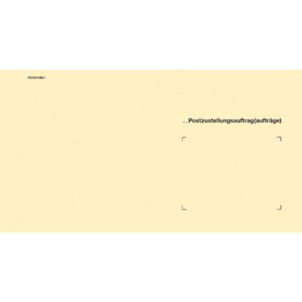 RNK Verlag Zustellungsumschlag, 235 x 125 mm, ohne Fenster