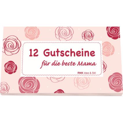 """RNK Verlag Gutscheinheft """"Für die beste Mama"""", rosa"""