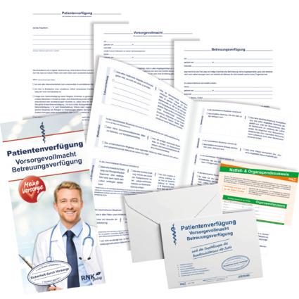 """RNK Verlag Vordruck """"Patientenverfügung"""", 220 x 162 mm"""