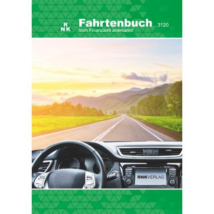 RNK Verlag Fahrtenbuch PKW, DIN A5, 32 Blatt