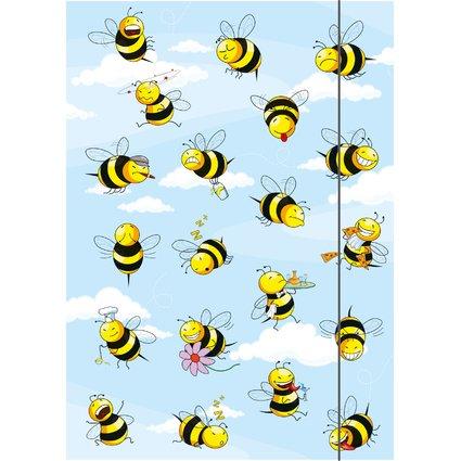 """RNK Verlag Zeichnungsmappe """"Crazy Bees"""", DIN A3"""