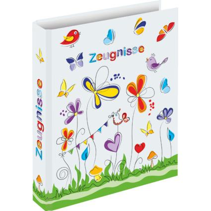 "RNK Verlag Zeugnisringbuch ""Schmetterlinge"", DIN A4"