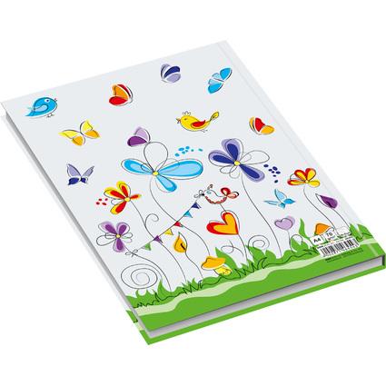 """RNK Verlag Notizbuch """"Schmetterlinge"""", DIN A4, liniert"""