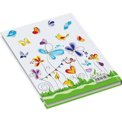 """RNK Verlag Notizbuch """"Schmetterlinge"""", DIN A5, kariert"""