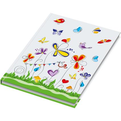 """RNK Verlag Notizbuch """"Schmetterlinge"""", DIN A5, liniert"""