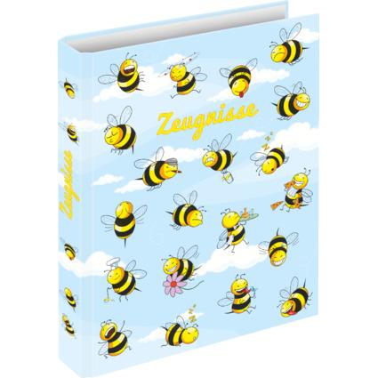 "RNK Verlag Zeugnisringbuch ""Crazy Bees"", DIN A4"