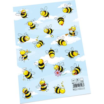 """RNK Verlag Hausaufgabenheft """"Crazy Bees"""", DIN A5"""