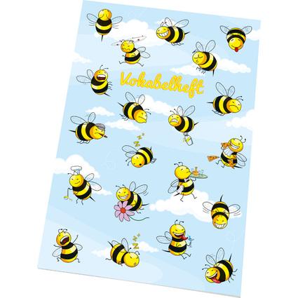 "RNK Verlag Vokabelheft ""Crazy Bees"", DIN A5, 2 Spalten"