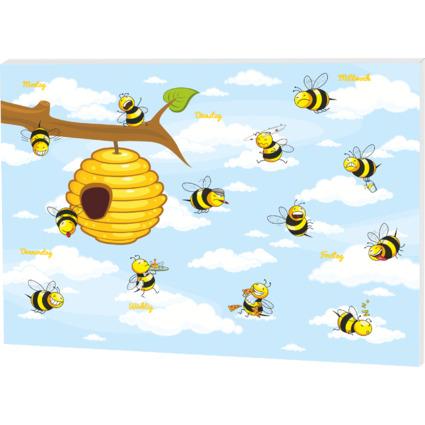 """RNK Verlag Papier-Schreibunterlage """"Crazy Bees"""", klein"""