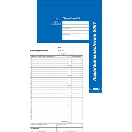 RNK Verlag Ausbildungsnachweis-Hefter, täglich, DIN A4