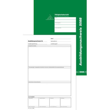 RNK Verlag Ausbildungsnachweis-Hefter, wöchentlich/monatlich