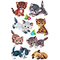 "AVERY Zweckform ZDesign Sticker KIDS ""Katzen"""