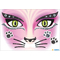 "HERMA Face Art Sticker ""Pink Cat"""