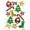 "HERMA Weihnachts-Sticker MAGIC ""Symbole"", glittery"