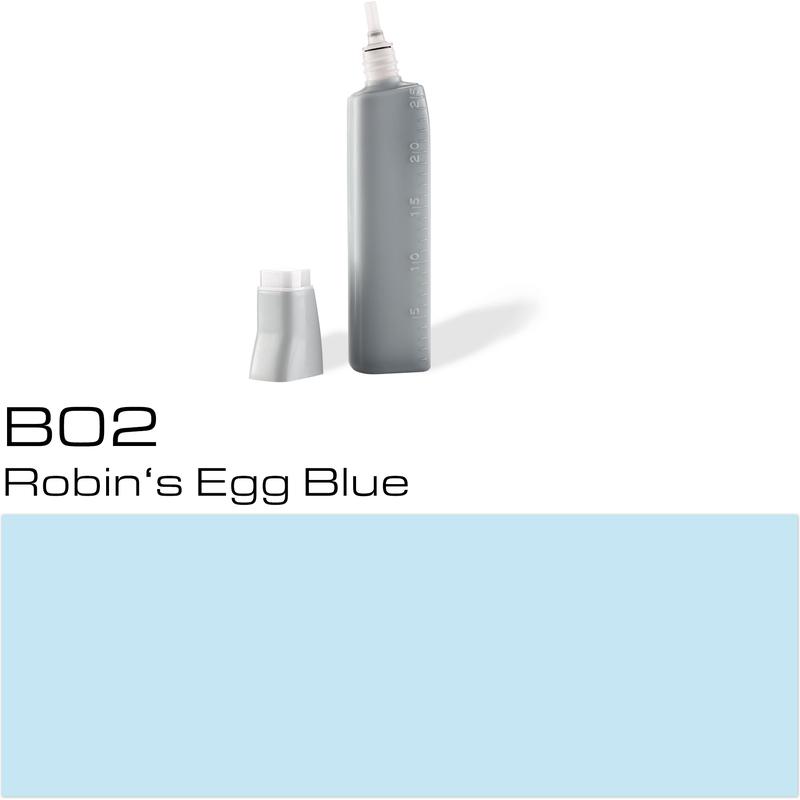 copic nachf lltank f r copic marker robin s egg blue b 02. Black Bedroom Furniture Sets. Home Design Ideas
