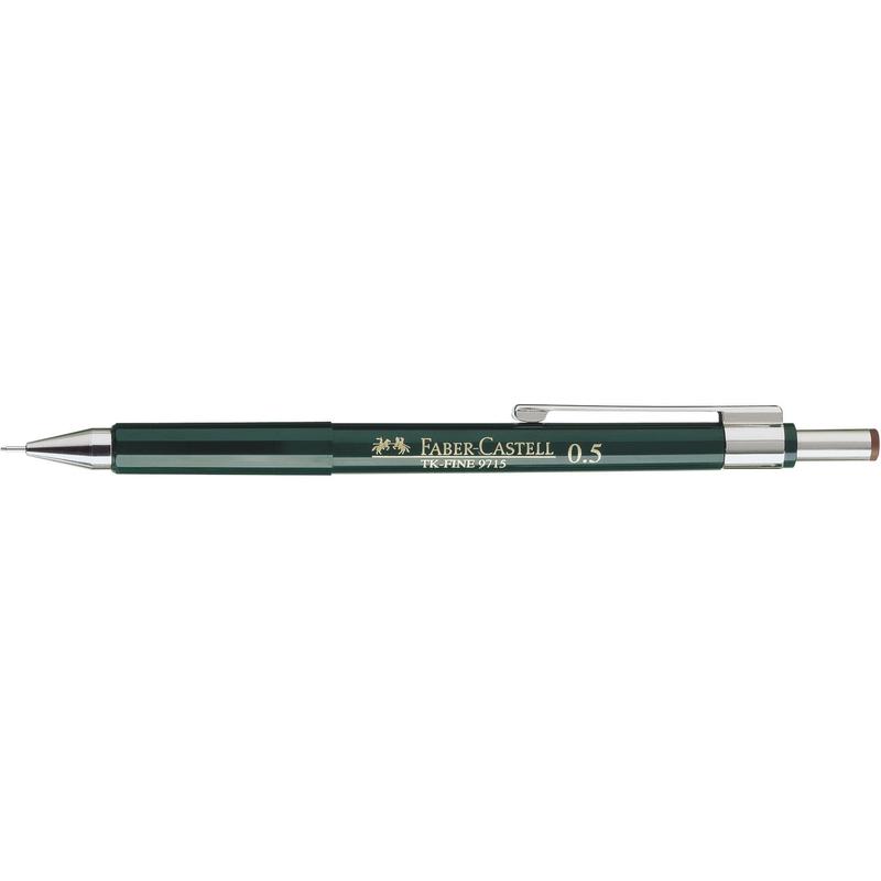 fabercastell druckbleistift tkfine 9715 grün 136500 bei
