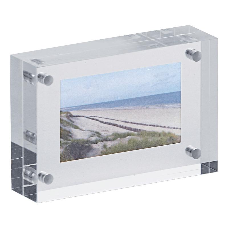 MAUL Bilderrahmen, (B)75 x (T)20 x (H)50 mm, glasklar 1954605 bei ...