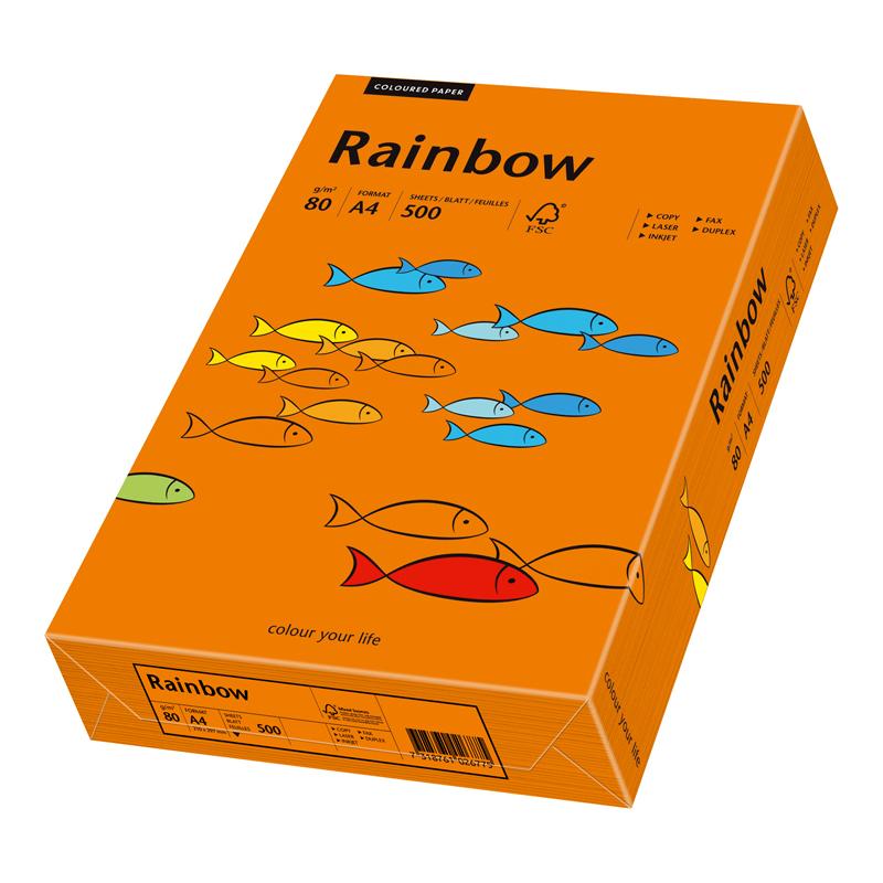 papyrus multifunktionspapier rainbow a4 intensivorange. Black Bedroom Furniture Sets. Home Design Ideas