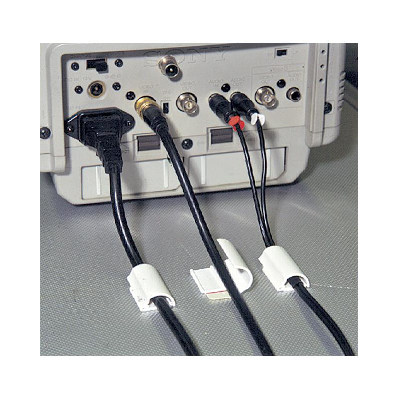 Gut tesa Powerstrips Kabel-Clip, weiß 58035-00016-01 bei www.officeb2b  CV49