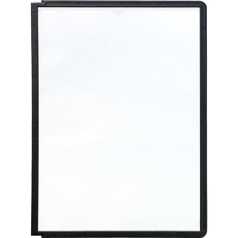 DURABLE Sichttafel SHERPA, DIN A4, Rahmen: schwarz 5606-01 bei www ...