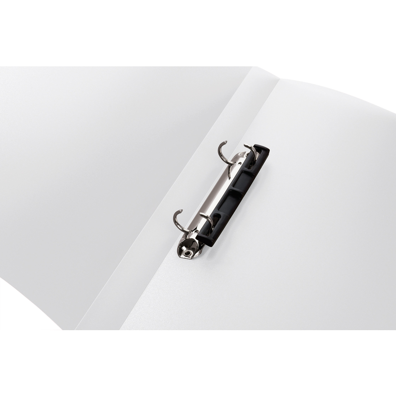 2-Ring-Mechanik HERMA Ringbuch farblos-transluzent DIN A4