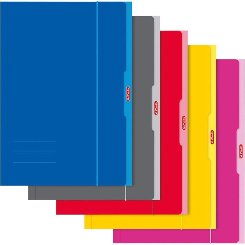 herlitz zeichnungsmappe din a3 farbig sortiert 444315 bei g nstig kaufen. Black Bedroom Furniture Sets. Home Design Ideas