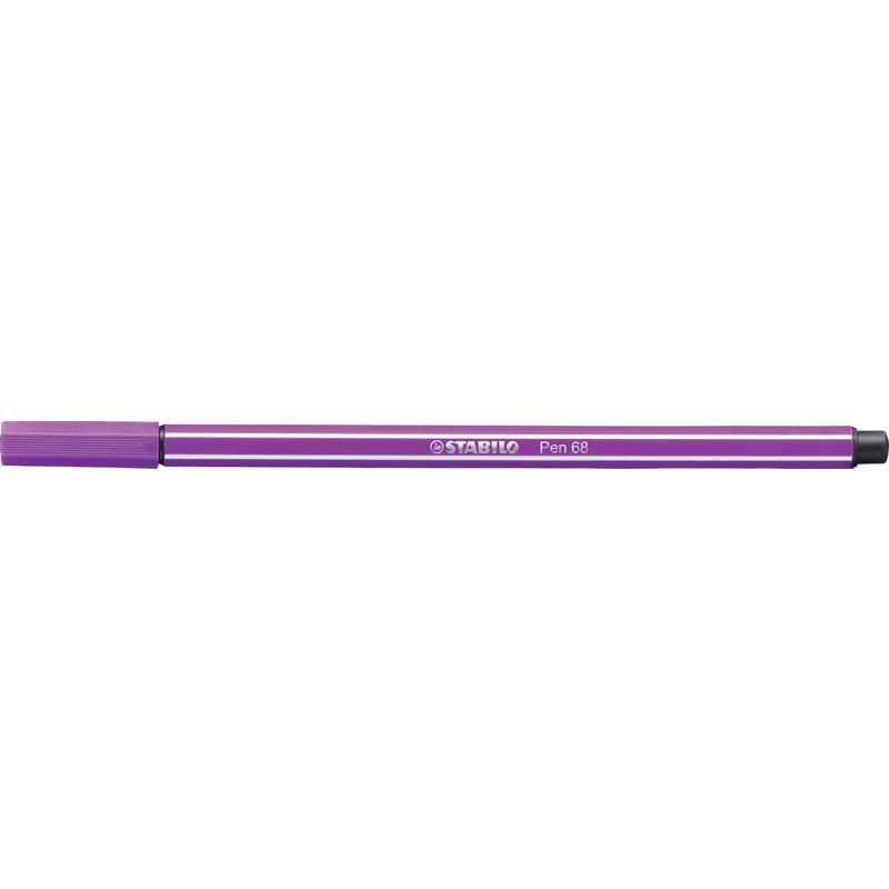 STABILO Fasermaler Pen 68 Strichstärke 1,0 mm violett