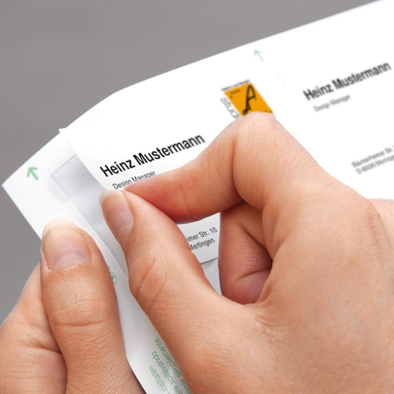 sigel Visitenkarten 3C 85 x 55 mm Marmor beige 225 g//qm