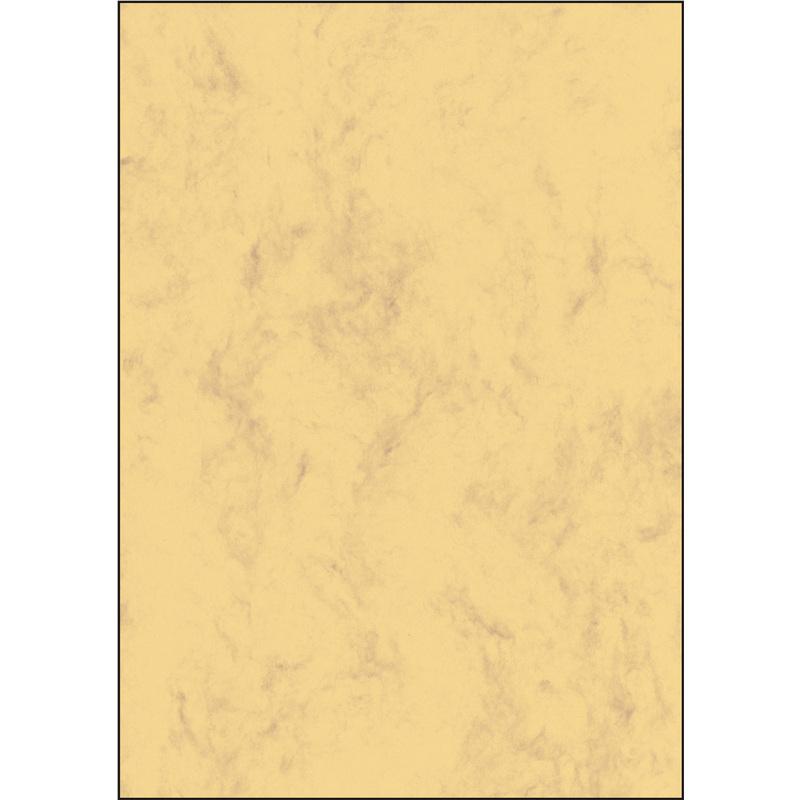 sigel Marmor Papier A4 200 g//qm Edelkarton beige 50 Blatt