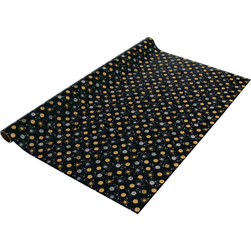 sigel Weihnachts-Geschenkpapier Stardust, auf Rolle, 80 g/qm GP117 ...
