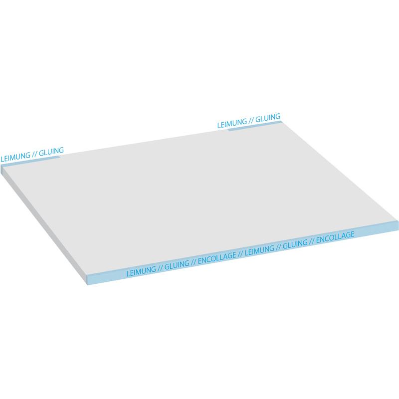 """sigel Papier-Schreibunterlage /""""Blue Emotion/"""" 595 x 410 mm"""