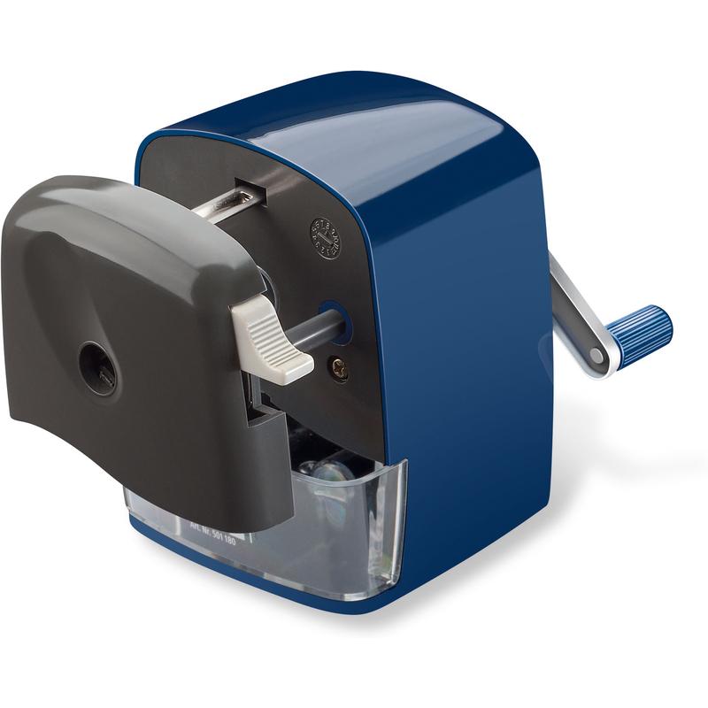 blau STAEDTLER Kurbelspitzmaschine Mars