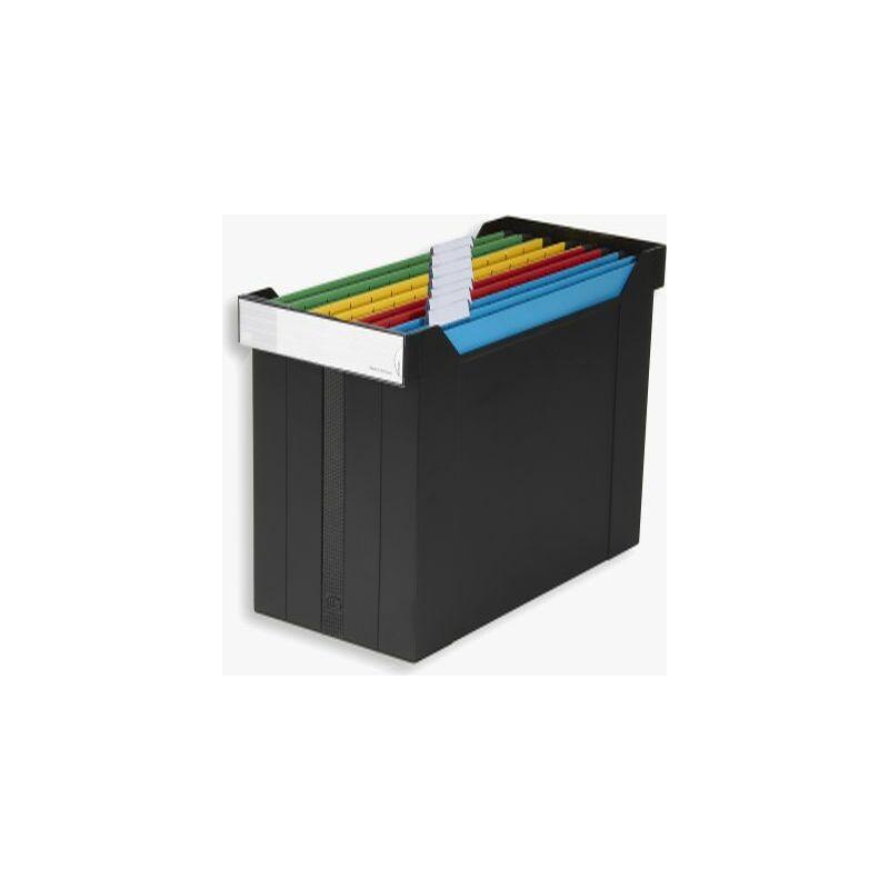 elba h ngeregistratur box go set gef llt schwarz. Black Bedroom Furniture Sets. Home Design Ideas