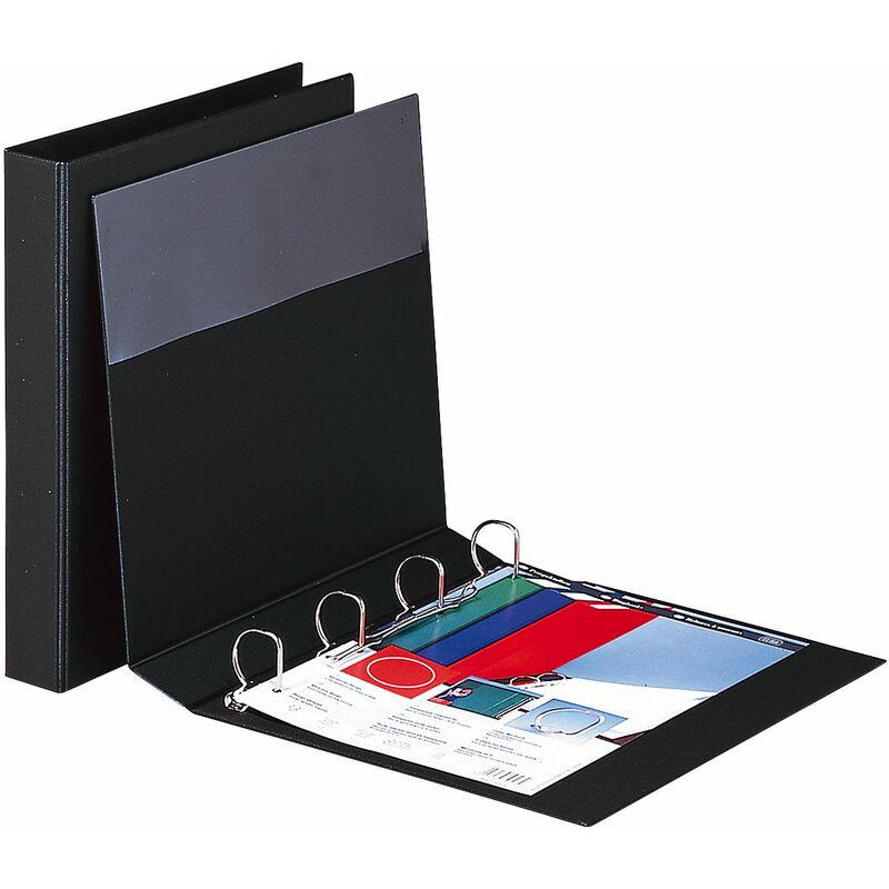 elba ringbuch image din a4 schwarz 4 ring rei mechanik 100420830 bei g nstig. Black Bedroom Furniture Sets. Home Design Ideas